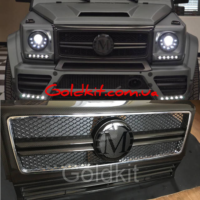 Mansory carbon front grill G class W463 G63 g65