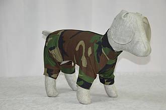 Комбінезон для собак Камуфляж