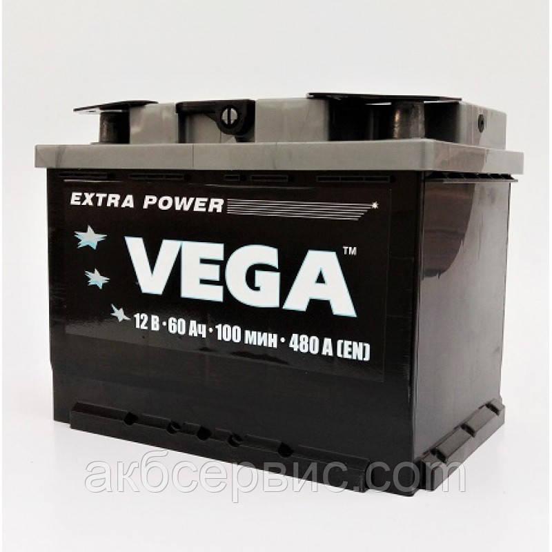 Аккумулятор автомобильный VEGA 6СТ-60 АзЕ