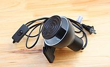 Инфракрасная керамическая лампа излучатель для обогрева животных 200 W, фото 3