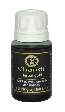 """Натуральное масло для волос """"Брингарадж"""" Chandi, 10мл, фото 2"""