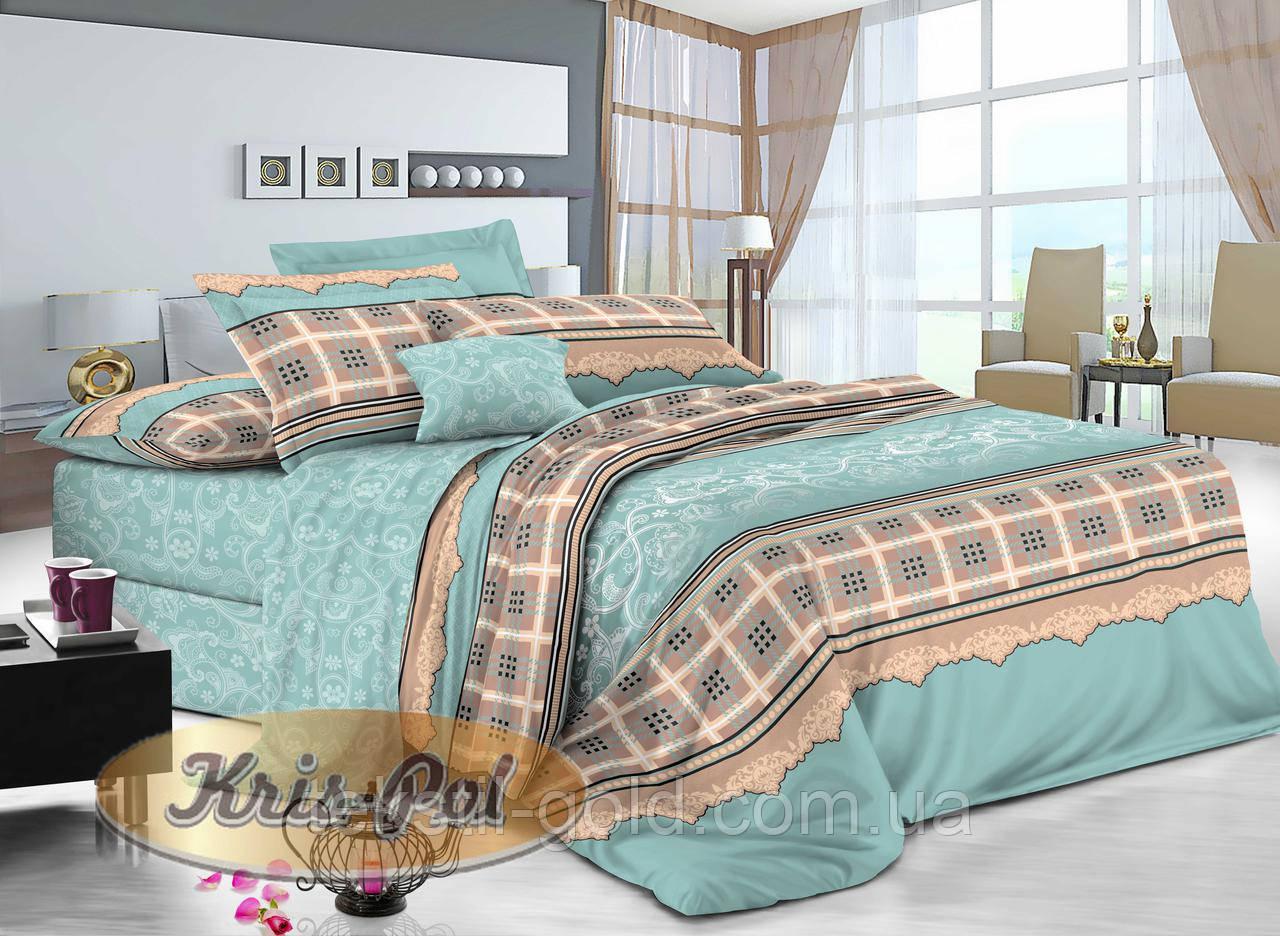 1,5-спальный комплект постельного белья ТМ Kris-pol (Украина) сатин хлопок 169231