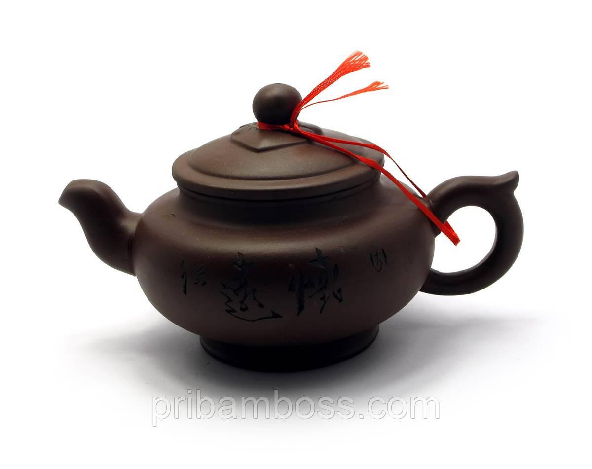 Глиняний Чайник (350мл.)(18х17х11 см)