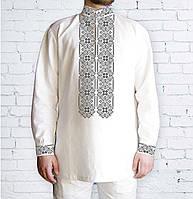 Заготовка чоловічої сорочки та вишиванки для вишивки чи вишивання бісером  Бисерок «Орнамент 531 С» 341f4fd98c5e3