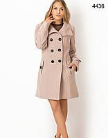 Кашемировое стильное пальто с пуговицами , фото 1