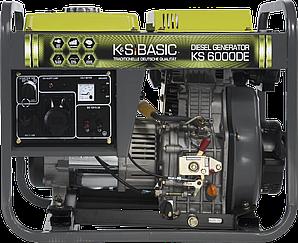 Дизельный генератор Konner&Sohnen BASIC KS 6000 DE