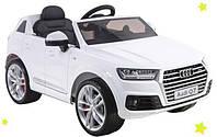 Детский электромобиль Alexis Baby Mix Audi Q7 - Польша - колеса с анти-скользящей полосой, 3 скорости, 2 двига