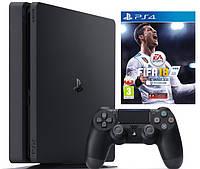 Игровая приставка PlayStation 4 Slim 1TB +  FIFA 18