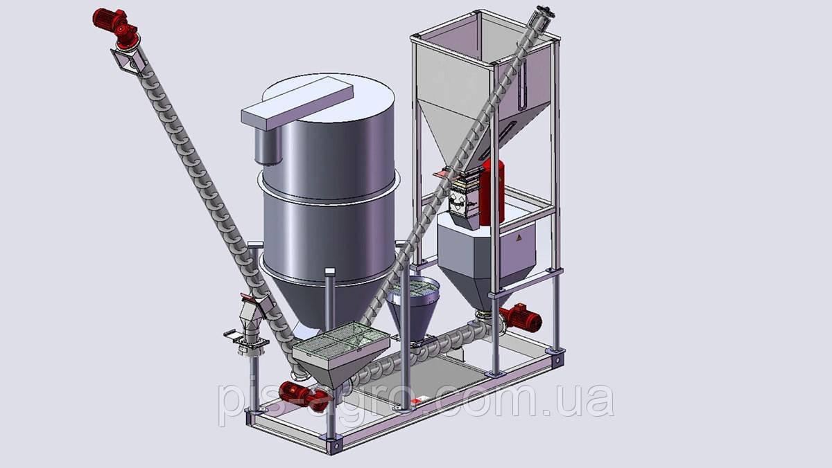 комбикормовый завод с элеватором оборудование
