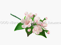 Цветы из мастики - Веточка яблони