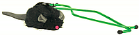 TRIXIE (Трикси) Мышка на резинке в дверной проем 7см/135см - игрушка для кошек