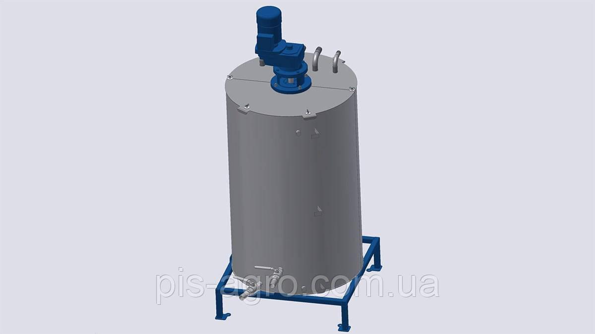 Гомогенизационные емкости FMN 1 для межоперационного хранения и гомогенизации масла перед фильтрацией.