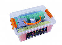 Игрушечный автотрек FYD170203-B (Magic track), 103 пластиковых деталей
