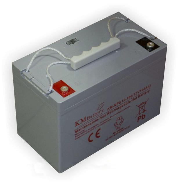 Аккумулятор гелевый - 100 Ач 12В KM NPG 12-100