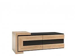 Шкафчик 2DS левый с дуба 126х52х47 CORINO MEBIN
