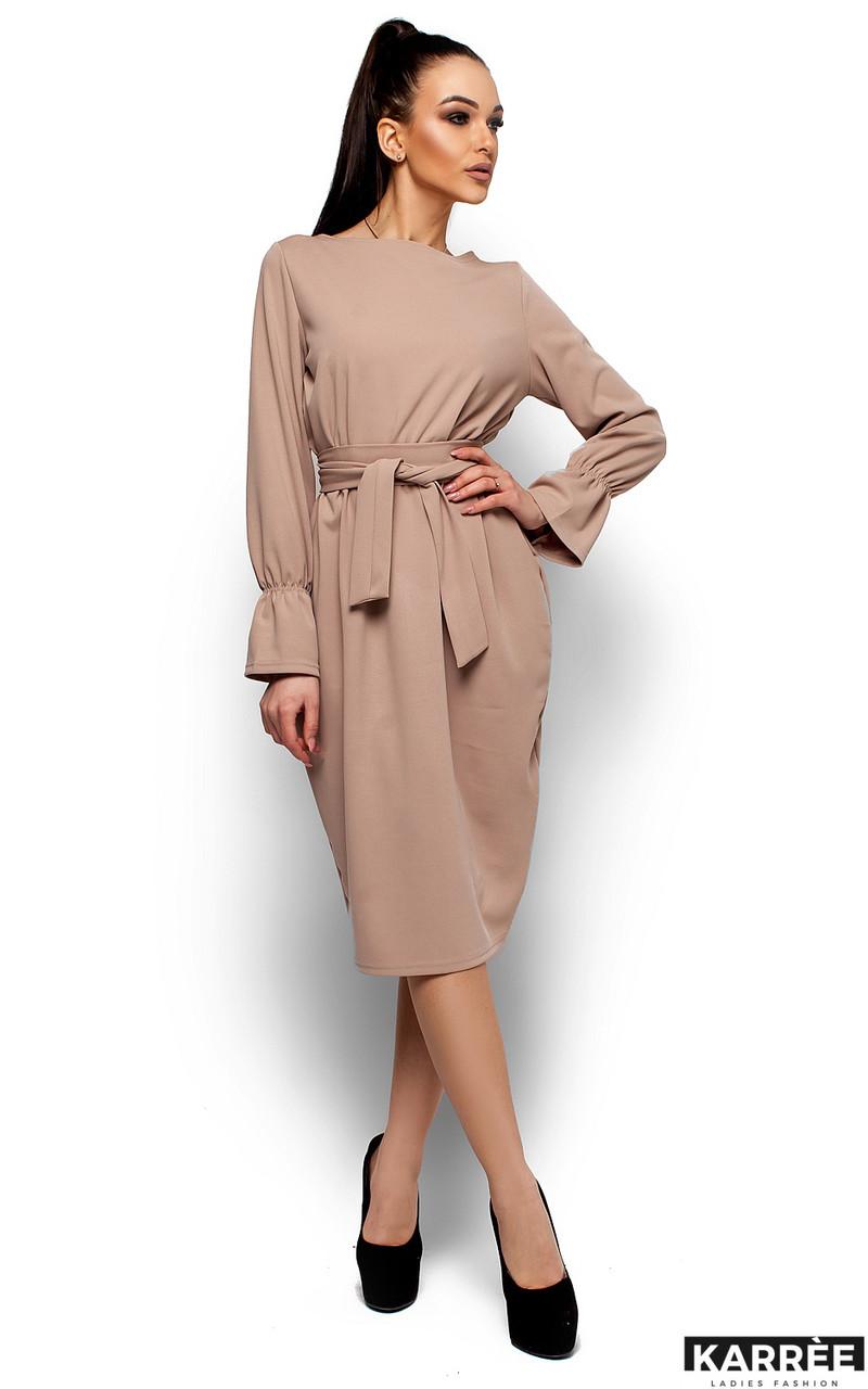 Женское платье Karree Венера, бежевый
