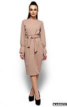 Женское платье Karree Венера, бежевый, фото 3