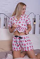 Хлопковая пижама MiaNaGreen П403 Арбузики, фото 1