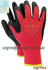 Перчатки защитные проклеенные OX-DRAGOS CB