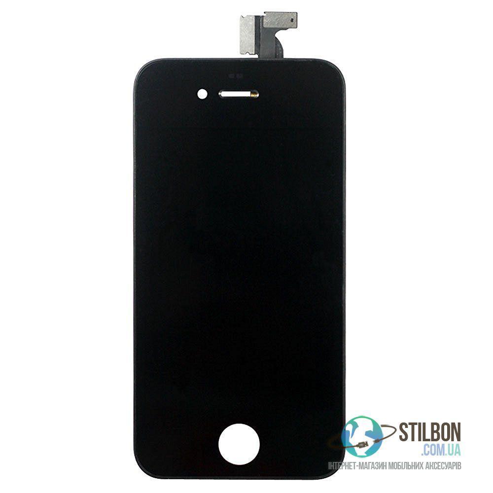 Дисплейный модуль для Apple iPhone 4 Black (High Copy)