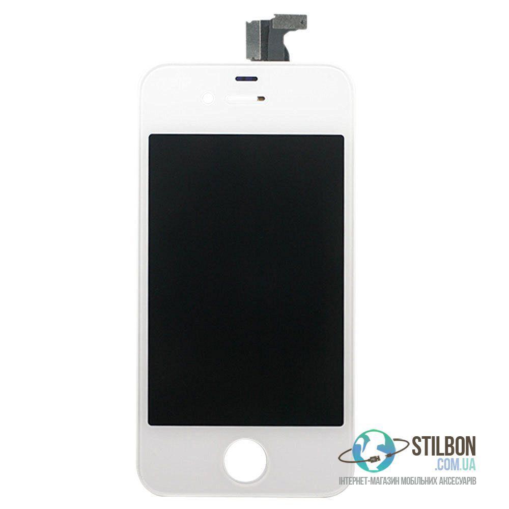 Дисплейный модуль для Apple iPhone 4 White (High Copy)