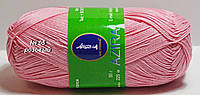 Пряжа для вязания хлопок Azira Victoria № 05 - РОЗОВЫЙ