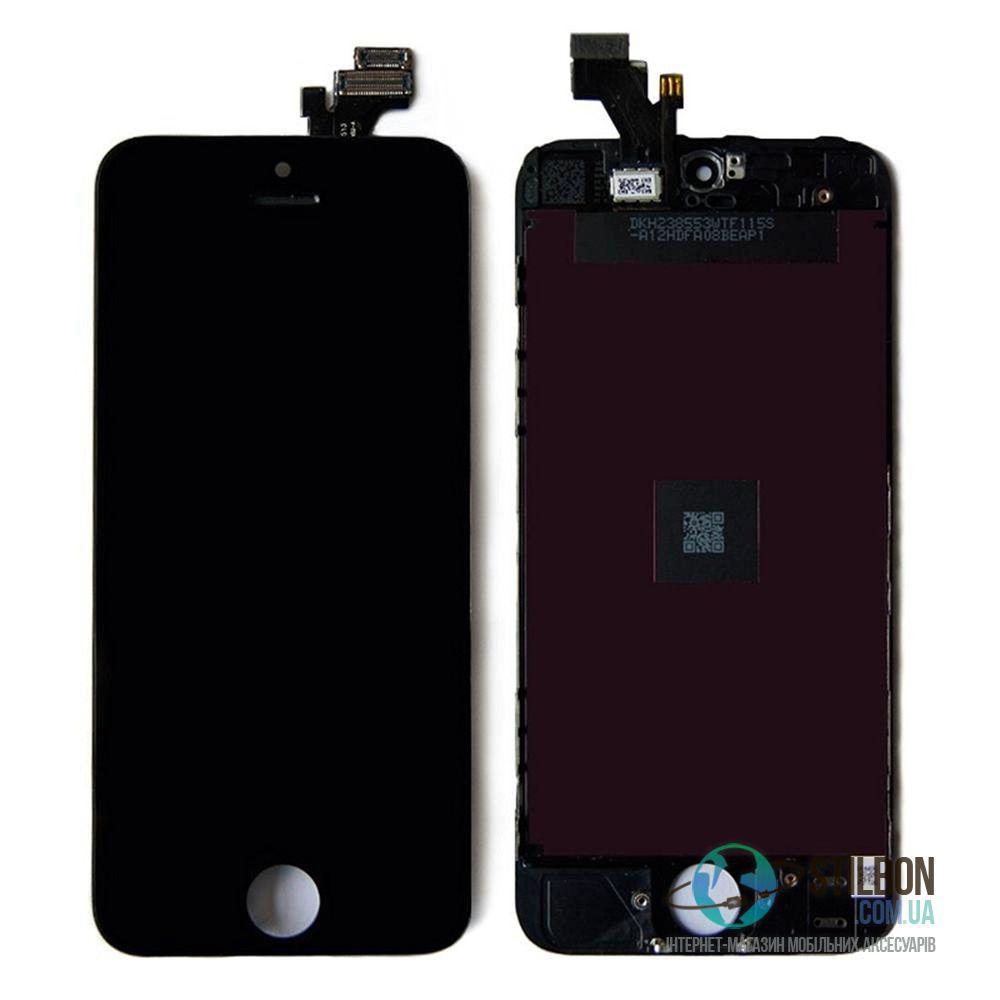 Дисплейный модуль для Apple iPhone 5 Black (High Copy)
