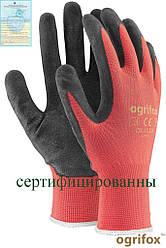 Перчатки защитные, изготовленные из полиэстера, покрытые латексом OX-LATEKS CB