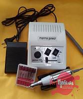 Белый Фрезер для маникюра Manna Power DM 868, 25 000 об/мин, 30 Вт