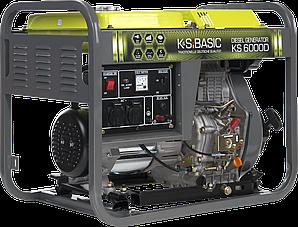 Дизельный генератор BASIC KS 6000D