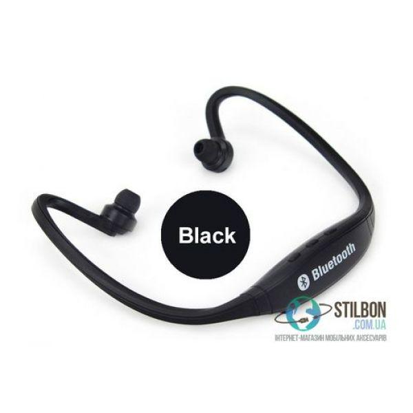 Спортивные Bluetooth-Наушники BS-19 Гарнитура Black