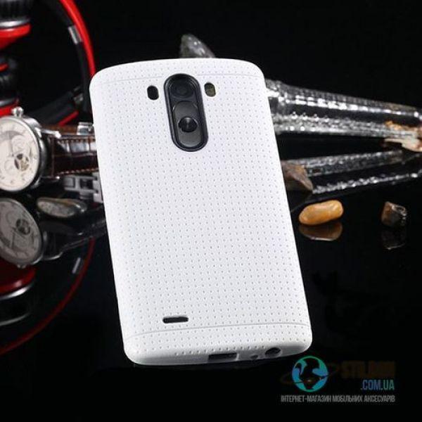 Чехол LG G3 D855 D858 D859 Soft TPU Силикон White