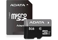 Карта памяти  MicroSD 8 Gb class 10