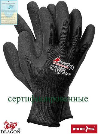 Защитные рукавицы изготовленные из трикотажа с дополнительным покрытием RDR BB