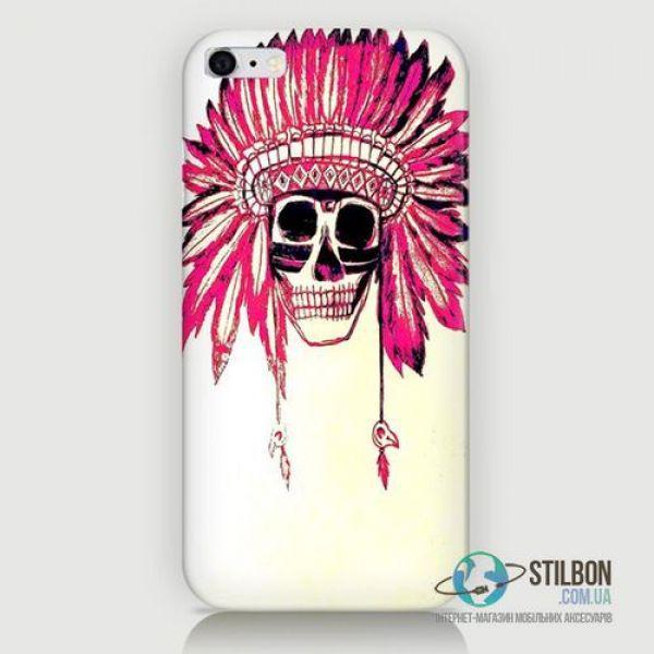 Чехол-Накладка Apple iPhone 6 6S Indian Пластмасса
