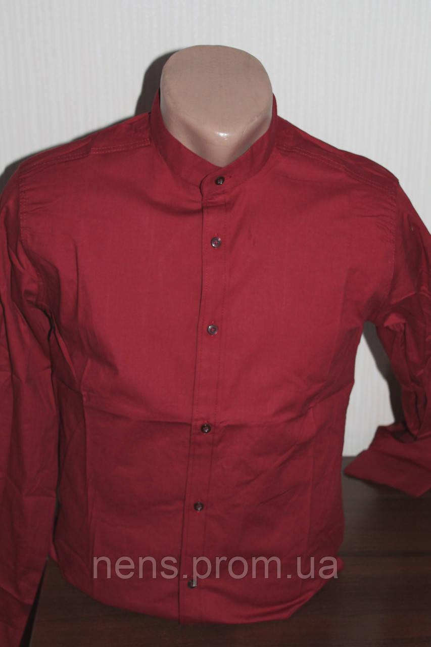 Мужская однотонная рубашка Sayfa a42ab022fb3fe