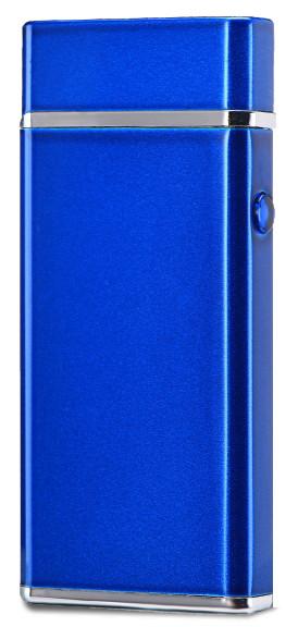 Электроимпульсная USB зажигалка WEXT Amethyst синяя