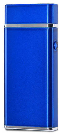 Электроимпульсная USB зажигалка WEXT Amethyst синяя, фото 2