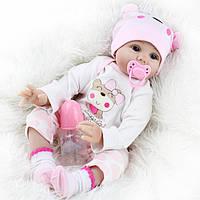 Кукла реборн 55 см девочка Машенька