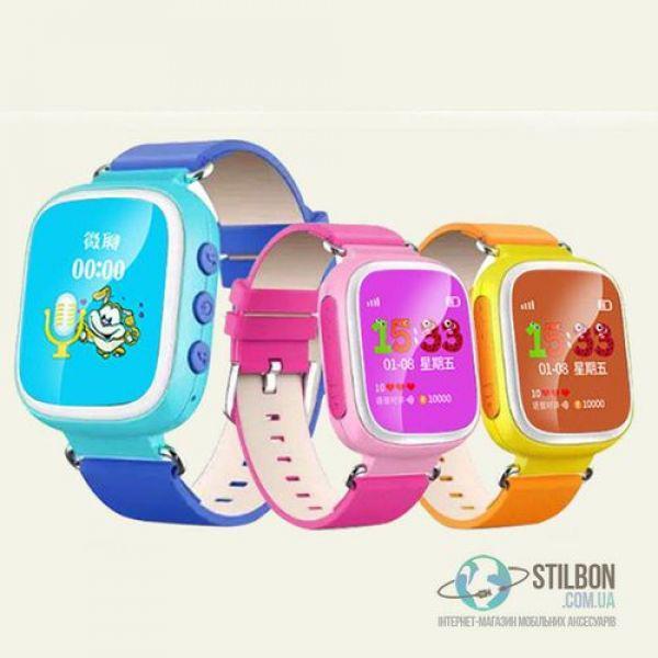 Детские смарт-часы Q60S GPS tracking + SOS, ЦВЕТ голубой