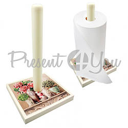 Держатель бумажных полотенец «Прованс», 16,5х16,5х17 см (263-0403Be)