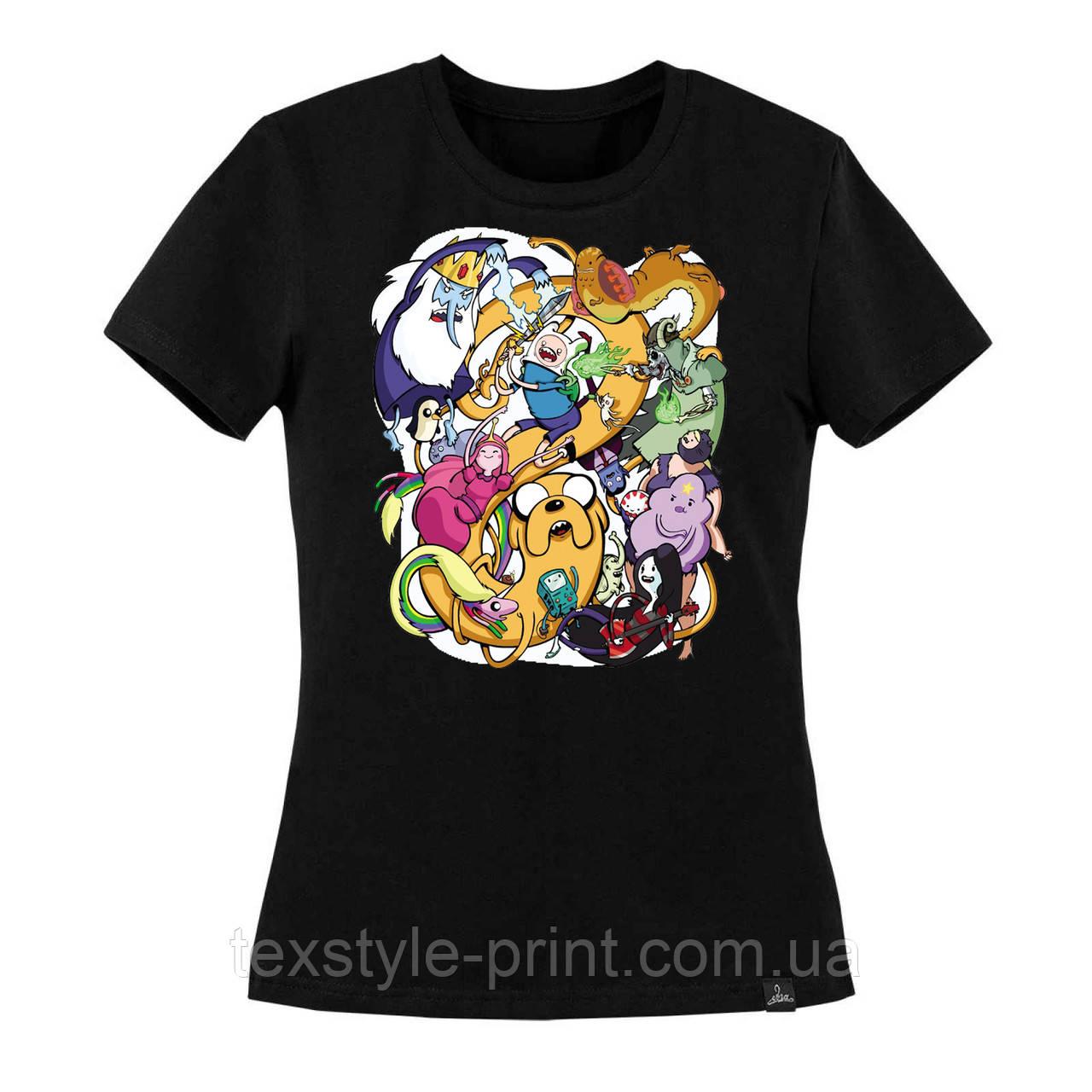 Цифровая печать на цветных футболках от 5 шт