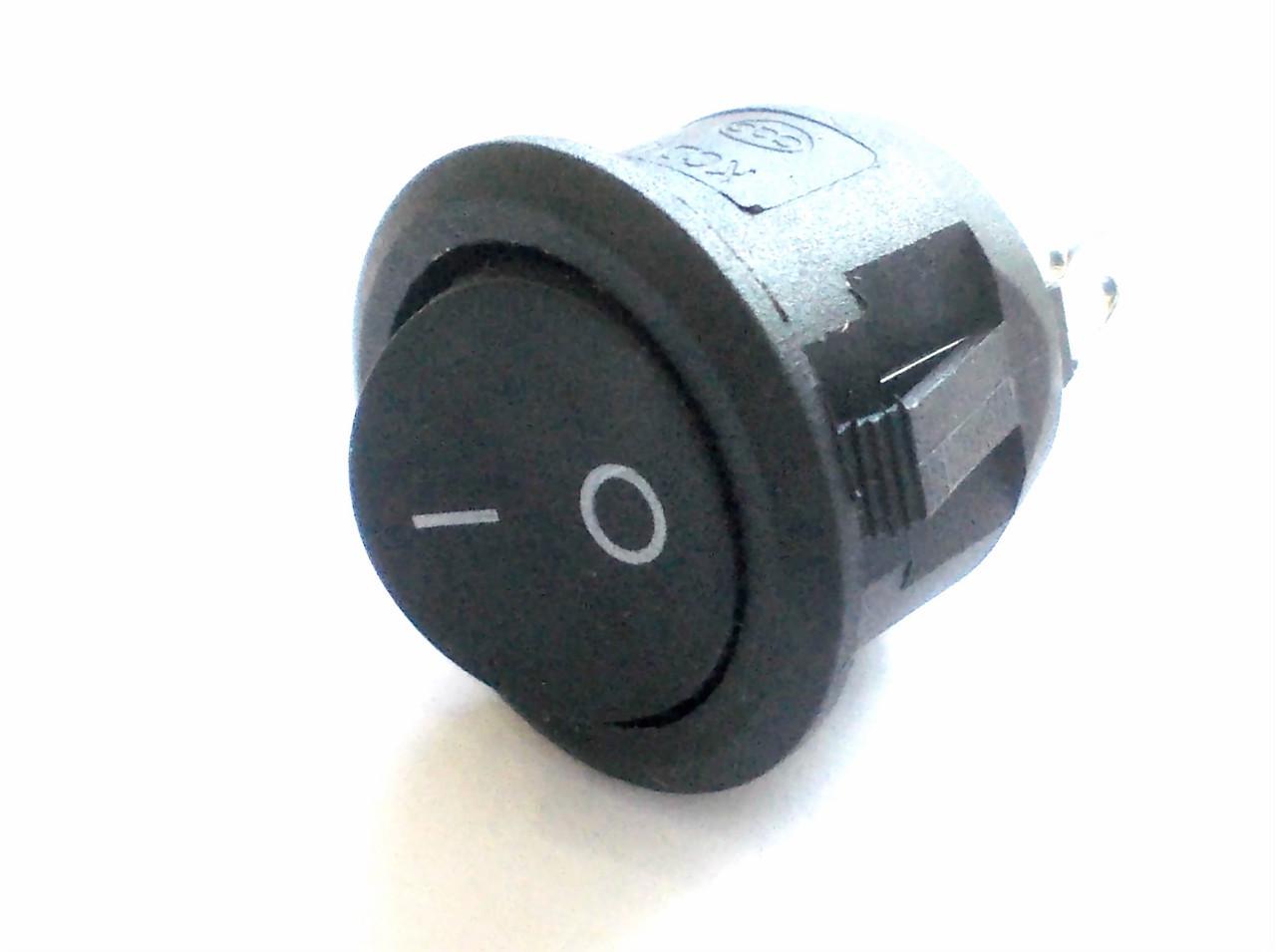 Переключатель KCD1-105 (KCD3-501) круглый под отверстие 20 мм
