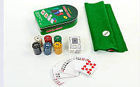 Покерный набор 120фишек IG-3008