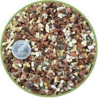 Грунт для аквариума 10 кг БЕЛО-РОЗОВЫЙ (кварцит) мелкий 2-5 мм