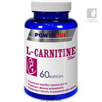 L-Карнитин POWERFUL  60кап.по 1.0г Красота и Здоровье