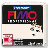Фимо Долл Арт,  полупрозрачный фарфор, 85г, Fimo Professional Doll Art, 8027-03
