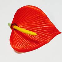 """Искусственный цветок """"Калла"""" атлас, 100 шт. в упаковке, (диаметр 100 мм)"""