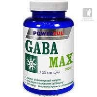 Габа-аминомасляная кислота GABA-MAX POWERFUL 100кап.по 1.0г. Красота и Здоровье