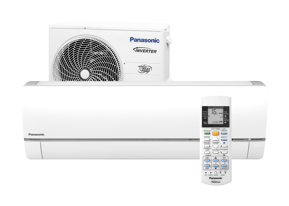 Инверторный кондиционер Panasonic до 35 кв.м CS/CU-HZ12RKE-1